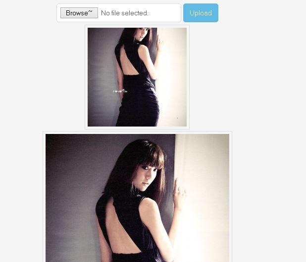 การอัพโหลดรูปภาพและ resize แบบ AJAX โดยใช้ PHP และ jQuery
