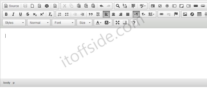 การใช้งาน CKEditor (Text Editor WYSIWYG) และการตั้งค่าแบบง่ายๆ